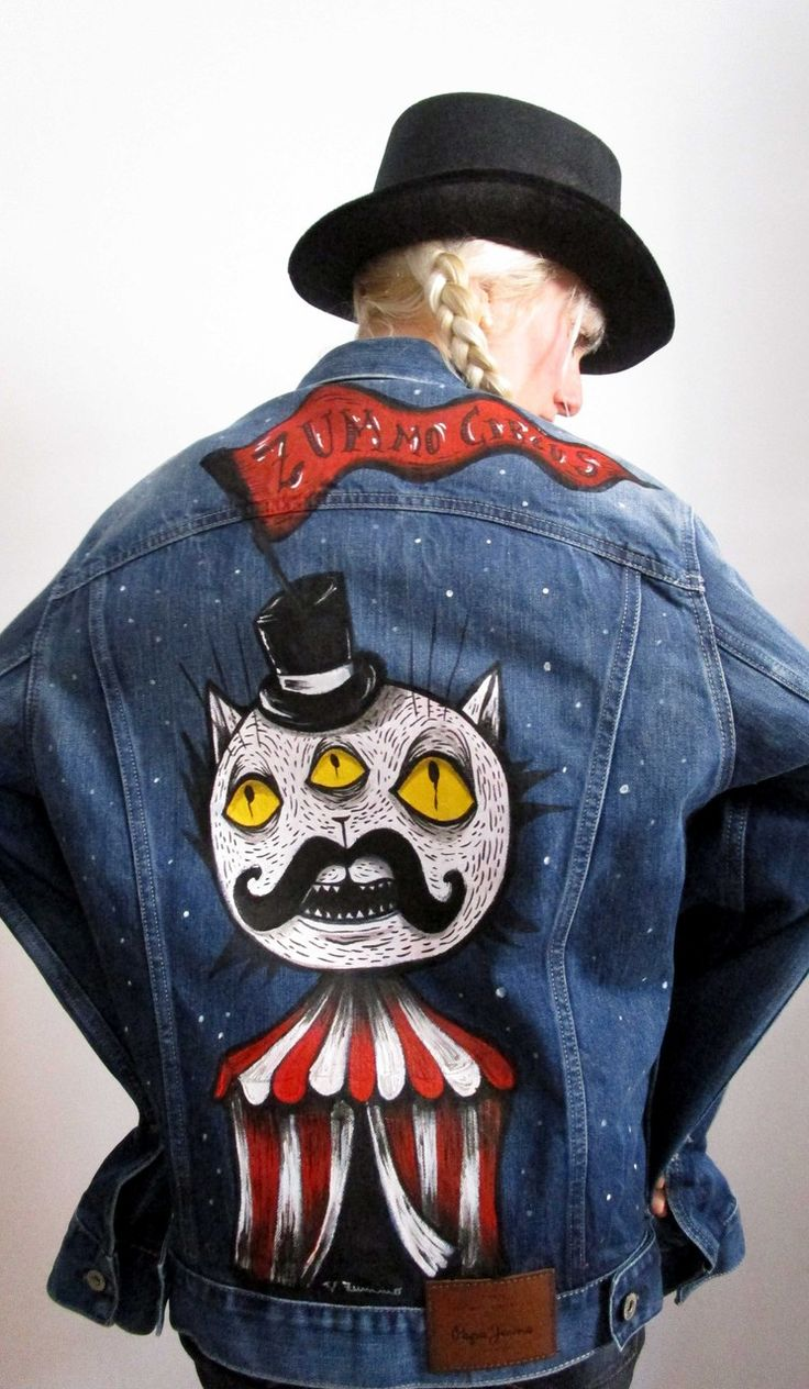 Live painting on denim jacket in collaboration with Pepe jeans London - Rome - store via del Corso