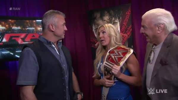 Shane McMahon is making Ric Flair, The Nature Boy leave Charlotte - WWE's side sooner than expected... #RAW