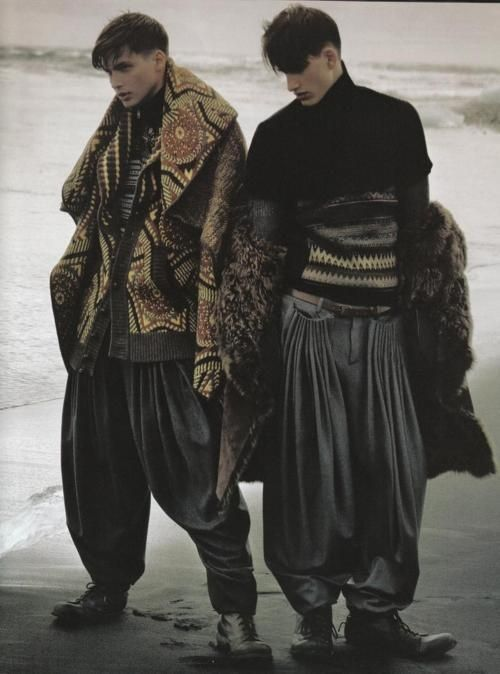 mode hommes : style nomade