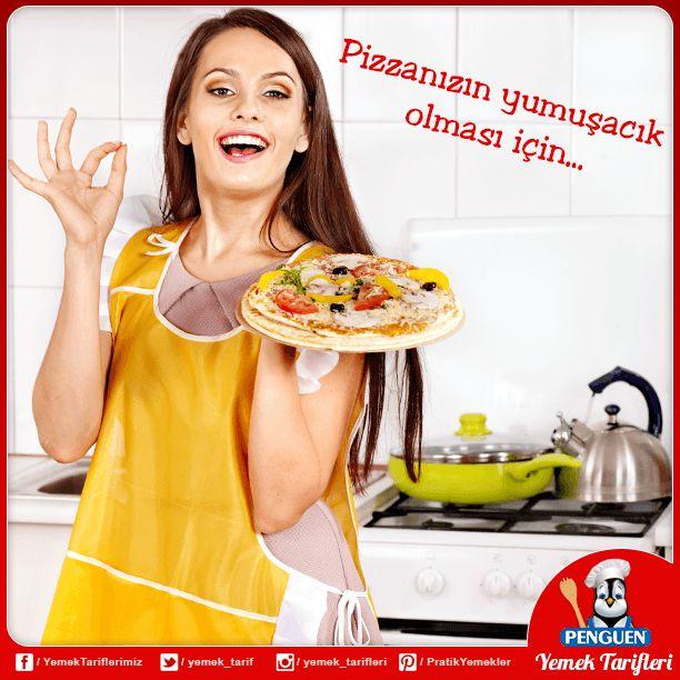 Pizzanızın daha yumuşak olması için hamura bir miktar patates püresi ekleyebilirsiniz.