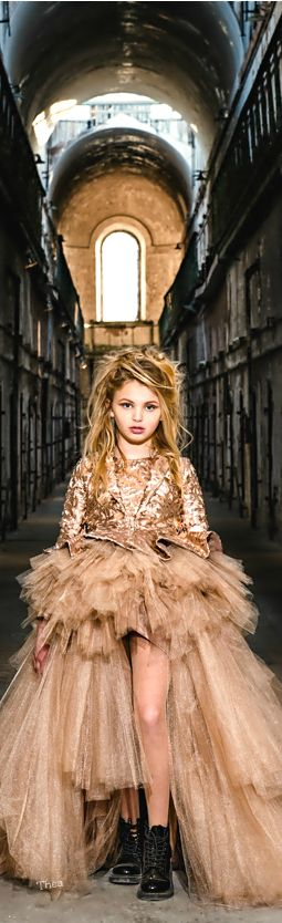 Mischka Aoki Haute Couture for children ~ Tнεα