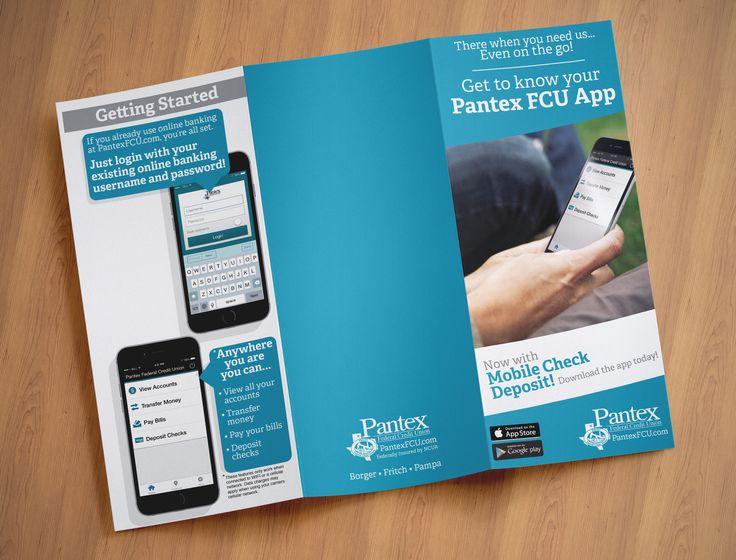Brochure for pantex fcu mobile banking app banking app