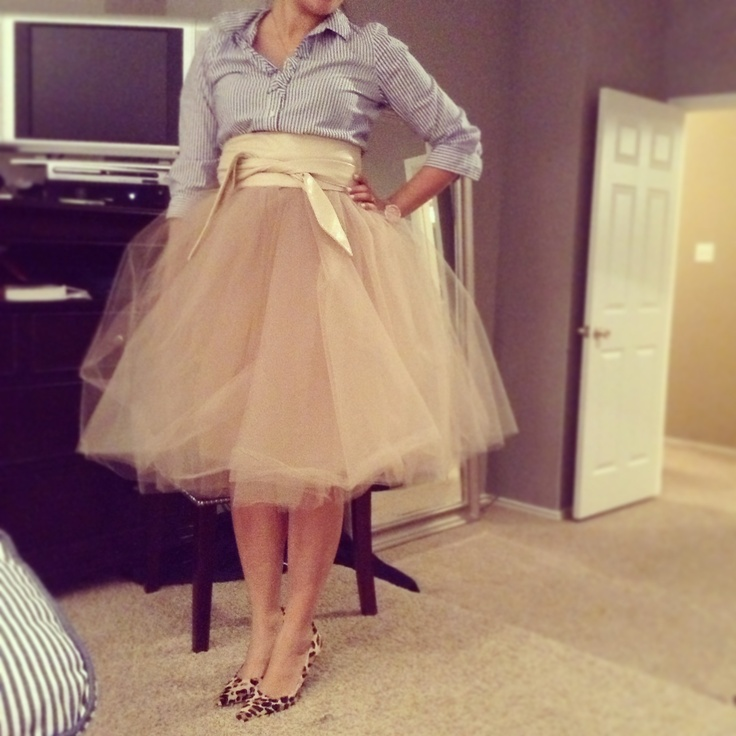 Diy tutu skirt made by me my pins pinterest for How to make a long tulle skirt for wedding dress