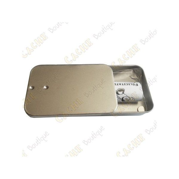 Magnetic Cache Tin Key Safe style | Geocache Land