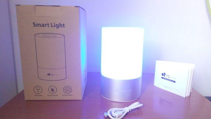 Review Luz de Mesa LED EC Technology gran diseño y buena funcionalidad