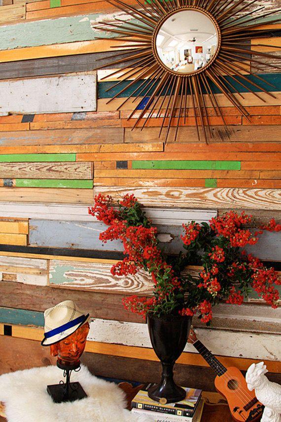 Custom Reclaimed Wood Wall Installations by RandRDesignworks, $3000.00