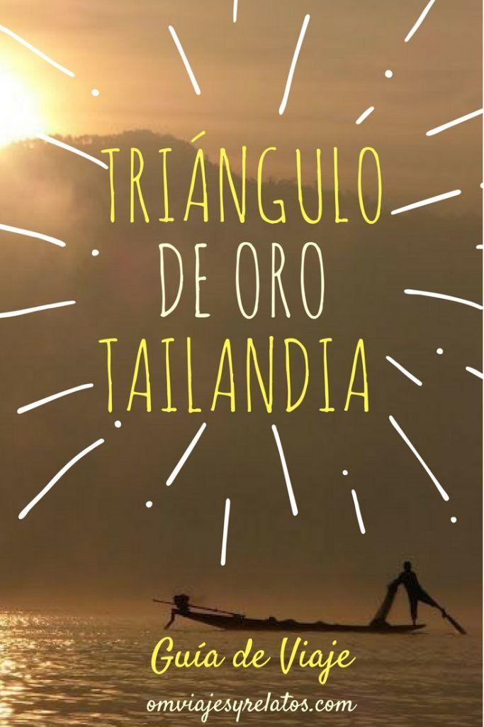 Guía de Viaje del Triángulo de Oro de Tailandia: Templos, Excursiones, Transporte y Alojamiento. #triangulodeoro #tailandia