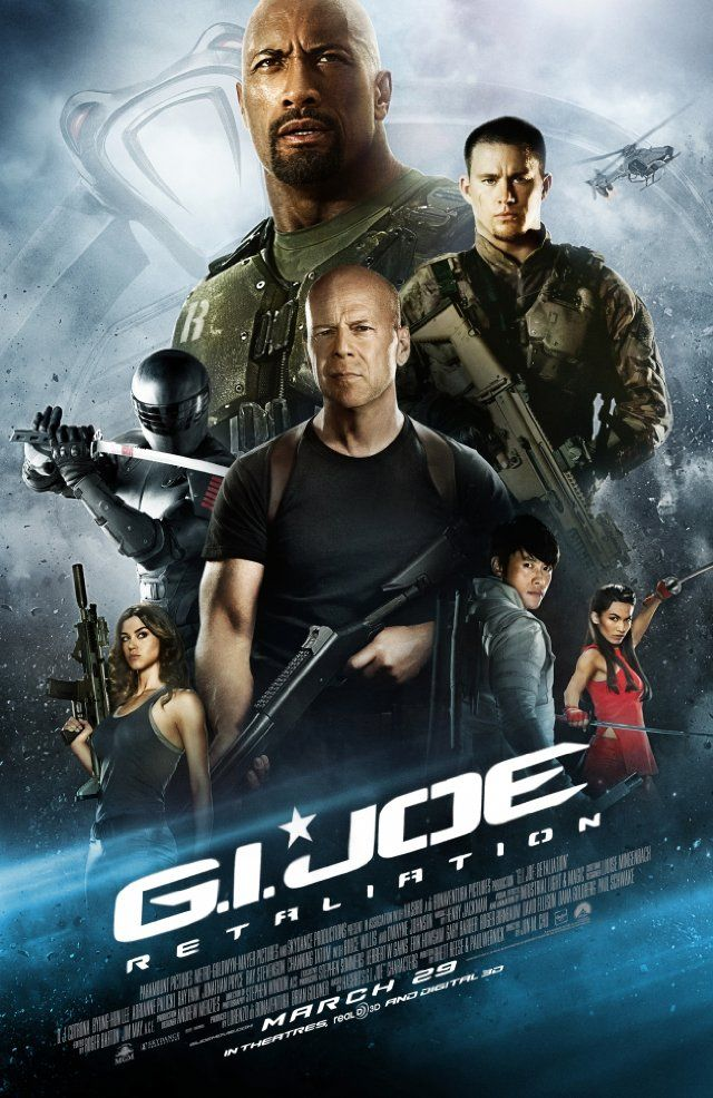We watched G.I. Joe: Retaliation last night. Sue actually fell asleep during it. I could add more, but that pretty much sums up anything else I would add...