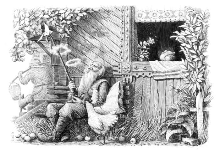 этого белорусские сказки с иллюстрациями в графике символики новой