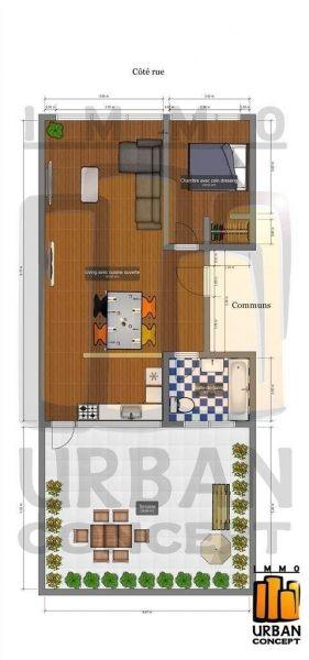Appartement à vendre à Laeken - 1 chambres - 55m² - 165 000 € - Logic-immo.be - Situé dans un petit immeuble sans charge , bien situé (proximité immédiate des transports: trams & bus) à 15 minutes du centre de Bruxelles, beau penthouse offrant 55 m2 habitables  + terrasse de 35 m...