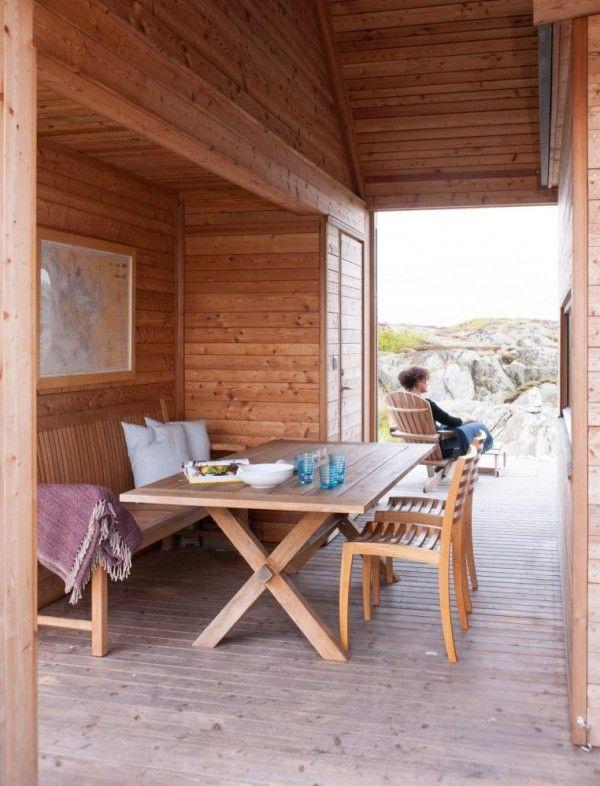 Fritidsbolig HVALER / Morfeus Arkitekter – nowoczesna STODOŁA | wnętrza & DESIGN | projekty DOMÓW | dom STODOŁA