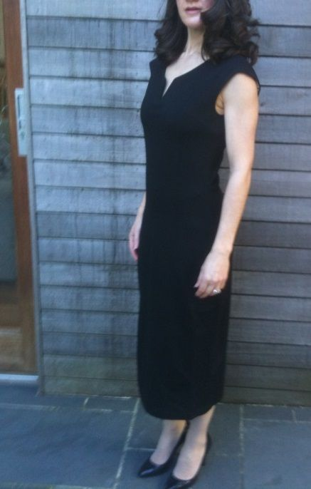 Happy client, senior lawyer, 44, two young children, in her Split Scoop (PBD style 1013) in size 8.