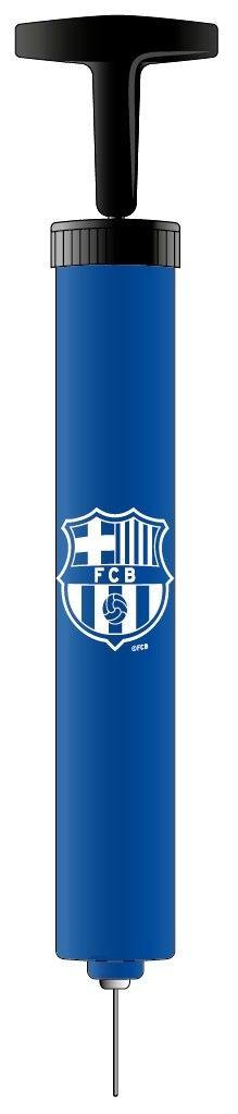 Een ballenpompje met het logo van Fc Barcelona er op gedrukt, voor de echte FC Barcelona fans! Handig om al jouw ballonnen op te pompen.  Let op: De naald zit verstopt in het handvat. onder het dopje. - Ballenpompje barcelona