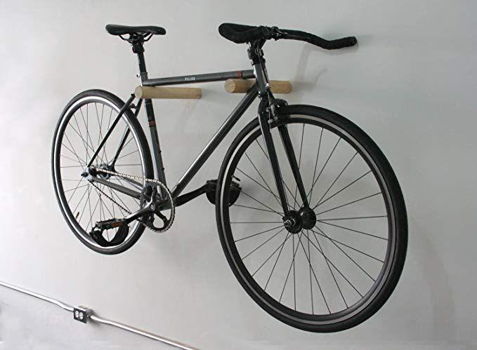 Anka Supply Co Bike Hanger Wooden Bike Hanger Wall Bike Rack