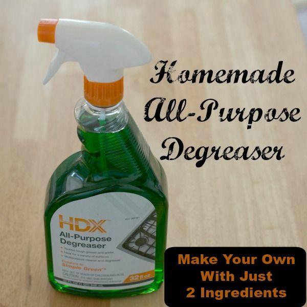 DIY All-Purpose Degreaser