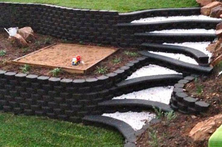 GB Masonry Daintree Retaining Wall Blocks