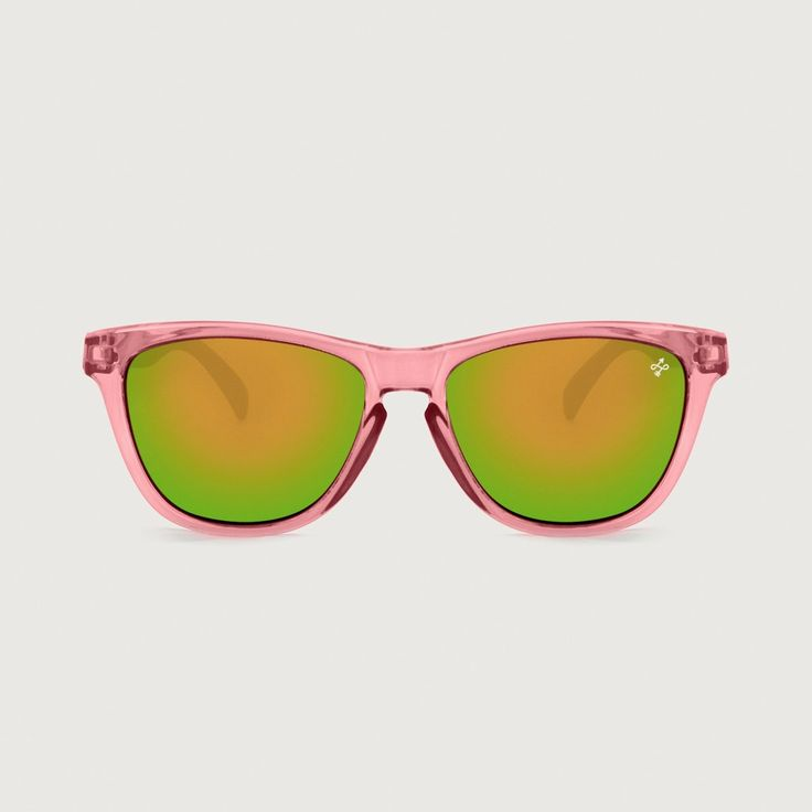 HOKANA CRYSTAL ROSE LIME SUNGLASSES