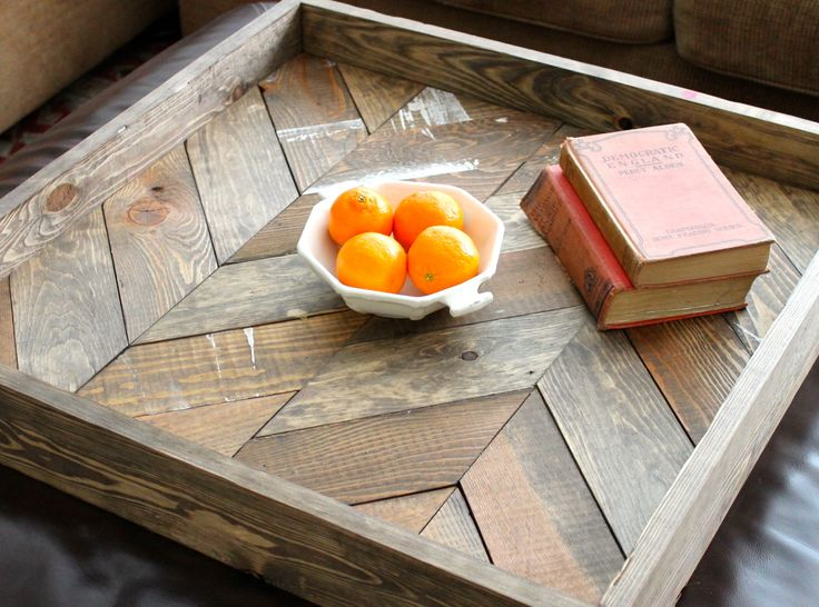 Shabby Chic DIY Wood Tray
