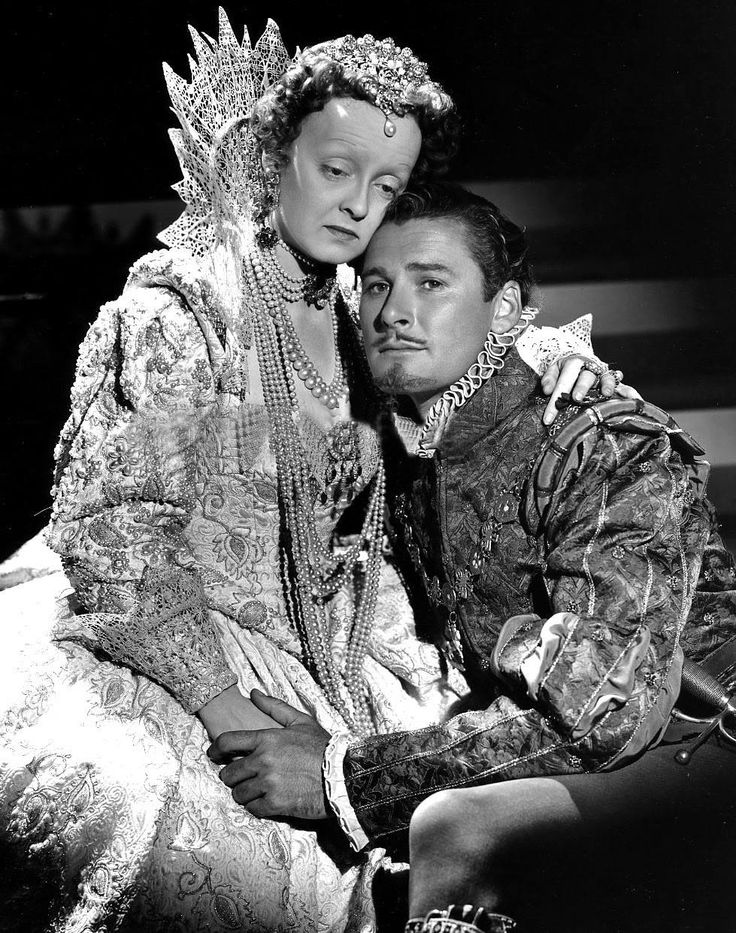 Bette Davis & Errol Flynn The Private Lives of Elizabeth and Essex (1939)