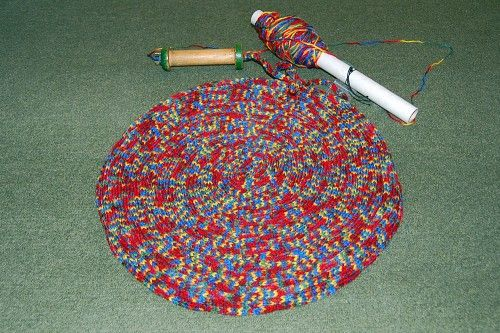French Knitting Rug : Best images about french knitting on pinterest