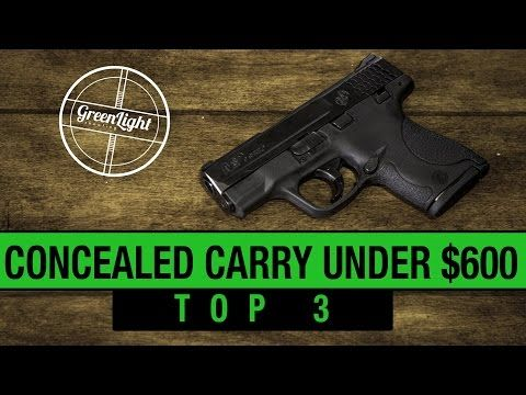 Top 3 Best Concealed Carry Guns Under $600 - YouTube