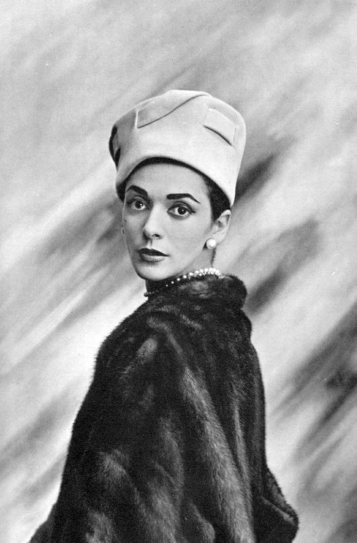 Kouka Denis in Svend Hat, photo by Georges Saad, 1956