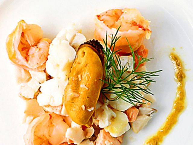 Fisk- och skaldjursgryta (kock recept.nu)