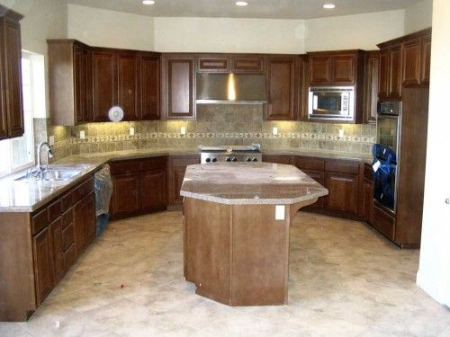 Kitchen Pictures with Fitted Cabinet and Layout
