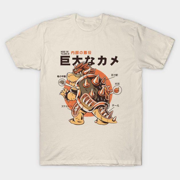 Bowserzilla T-Shirt - Super Mario Bros T-Shirt is $13 today at Ript!