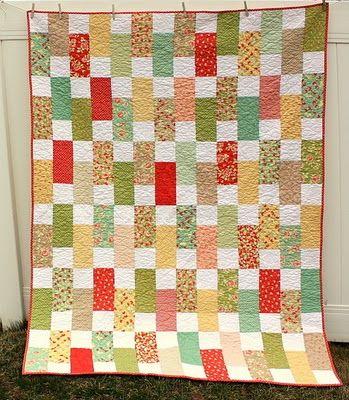 Bricks Quilt Pattern