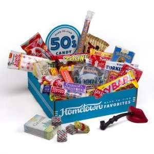 penny candy from the 50s | Hometown Favorites 1950s Nostalgic Candy Gift Box, Retro 50s Candy