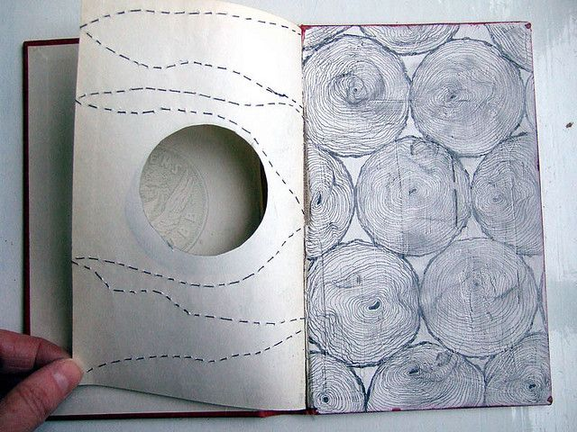 stitching on paper is so delicate by Cecilia Levy