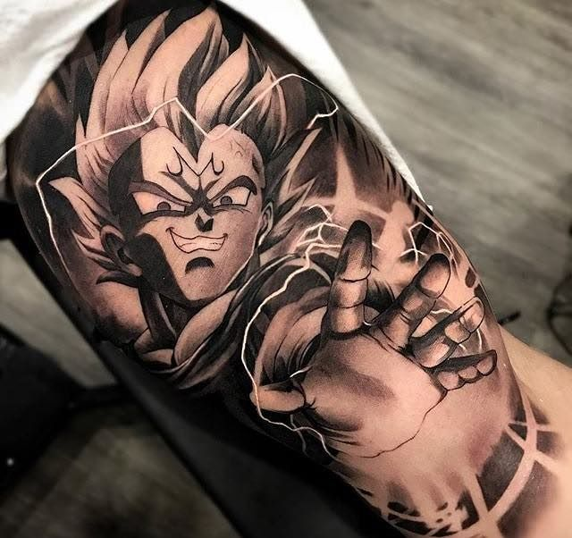 The Very Best Dragon Ball Z Tattoos Z Tattoo Dragon Ball Tattoo Dragon Tattoo Designs