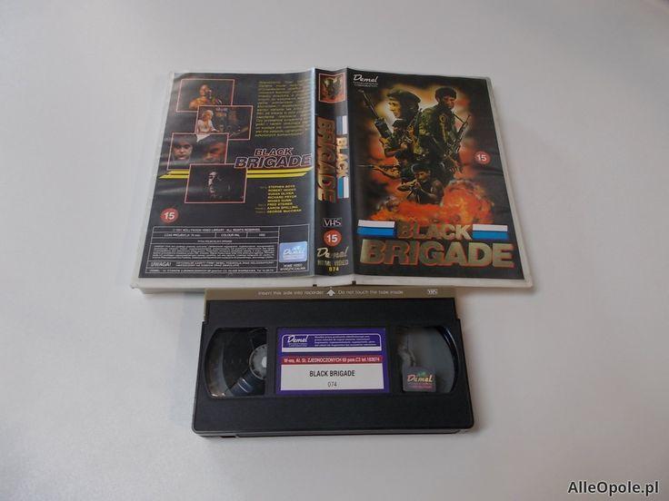 BLACK BRIGADE - Richard Pryor - VHS Kaseta Video - Opole 1658 (Opole)