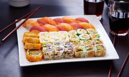 Cuisine japonaise à emporter à #LYON : 13.00€ au lieu de 22.00€ (41% de #réduction)