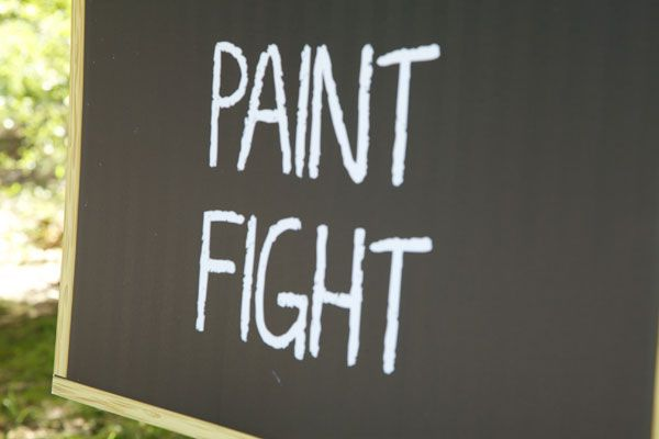 Host a paint fight in five simple steps.   Mighty Girl