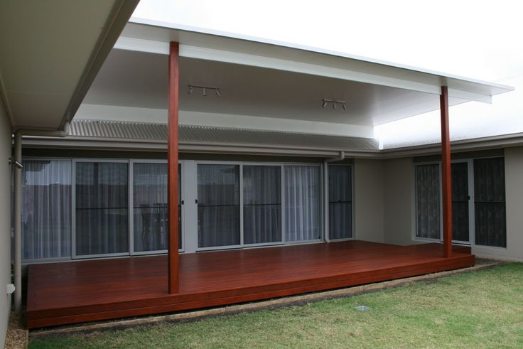 Timber deck flyover insulated patio roof brisbane for Timber decking calculator