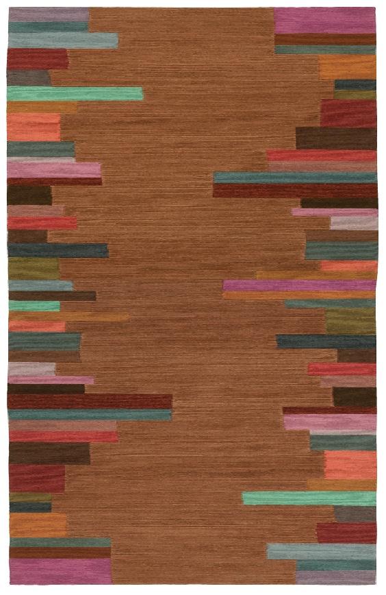 Doug and Gene Meyer rug EDGE STRIPE - large version