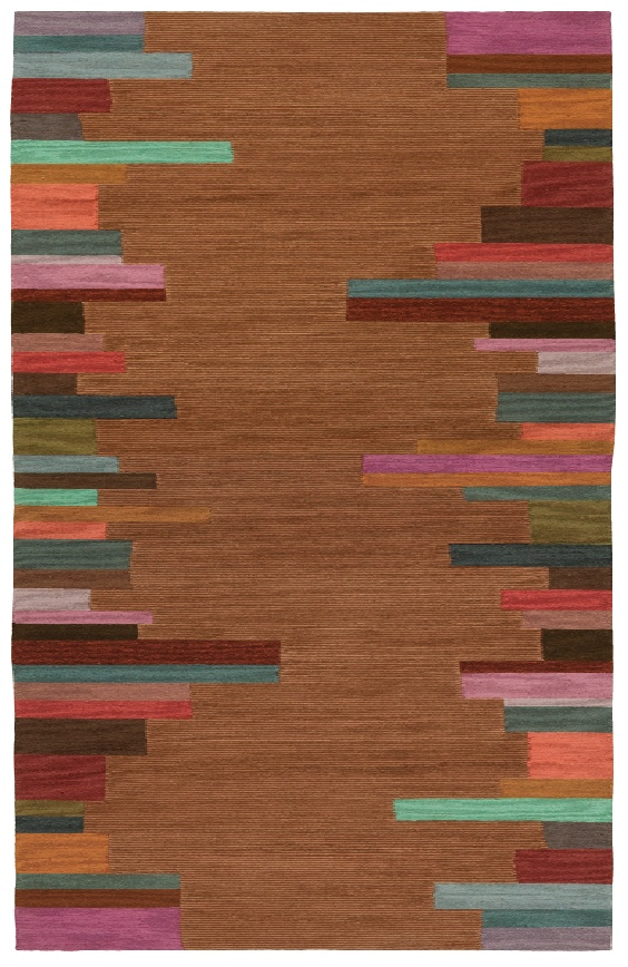 Doug and Gene Meyer rug EDGE STRIPE - large version