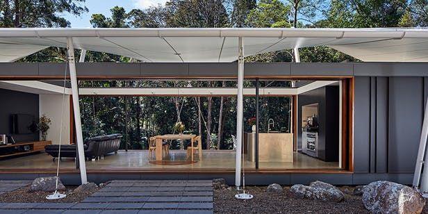 Grand Designs Australia: A $1.6m tent in the rainforest