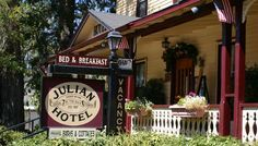 Julian Day Trip Apple Picking and Sightseeing Julian is a popular day trip from San Diego. Visitors can enjoy Julian's famous apple pie & stroll around town.