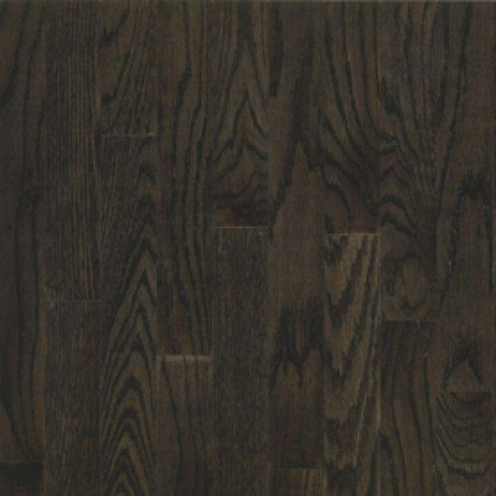 Dark solid oak hardwood flooring | Home | Pinterest