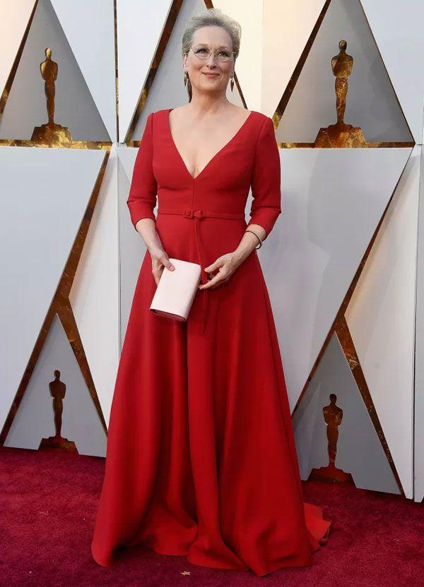 598ab95bc97 Highlights  Oscar. Meryl Streep veste Christian Dior ...
