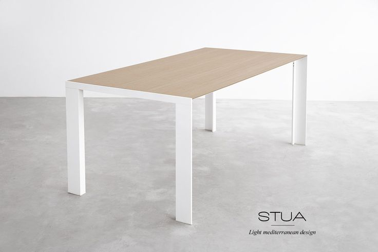 The new Deneb table options with white frame and wood tabletop have made possible complete new looks. More fresh and more contemporary.