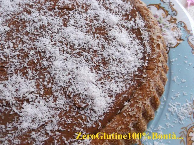 Crostata morbida Cocco e Nutella(senza glutine e lattosio)