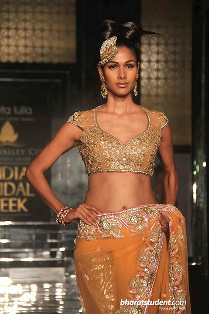 Neckline Sleeve Aamby Valley India Bridal Week 2011 Neeta Lulla