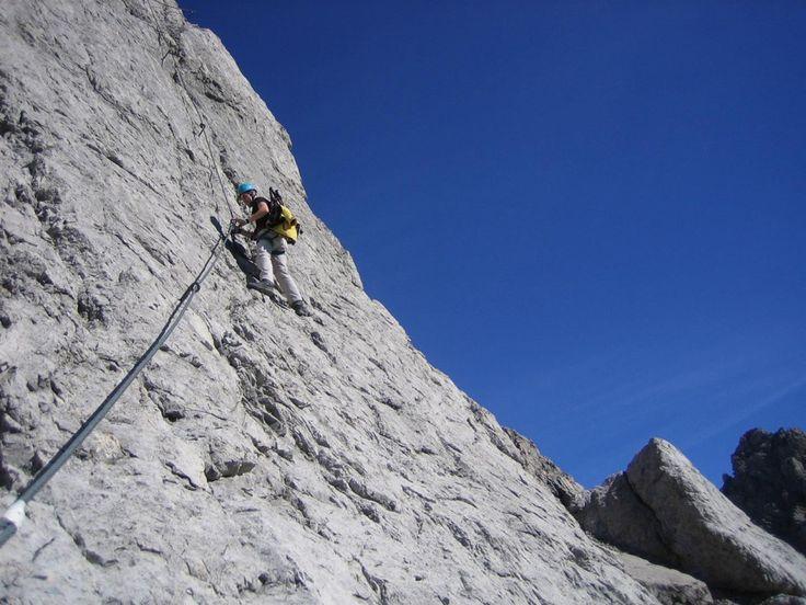 Klettersteig Levels : Best klettersteig images climbing hiking and