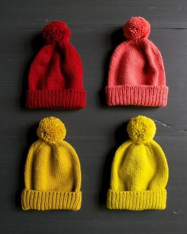 Bonnet à revers | 9 modèles de tricot sympas que vous devriez essayer dès maintenant