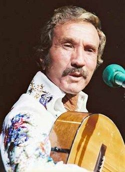 Marty Robbins. Seriously, I love Marty. If he was still alive I would probably follow him around the country like a puppy.