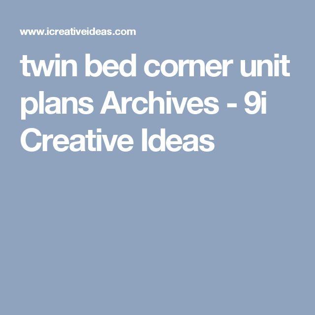 Best 25+ Corner twin beds ideas on Pinterest | Corner beds ...